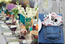 Recycled Denim / I have well over 100 pairs of jeans that people have given me to make picnic quilts, but I am looking for more variety on how I can use them.  / by Melissa Laninga