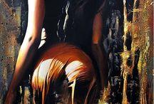 Девушки живопись