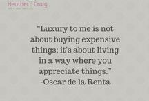 Interior Design Quotes / Thought provoking quotes from talented people in the interior design and home decorating field.