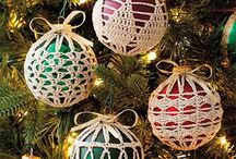Crocheted/tatted ornaments