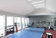 """Table tennis room with gym / Table tennis """"Ping Pong """" Home Gym"""