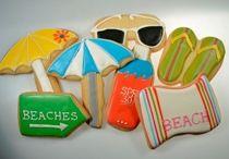 Summer Theme Cookies
