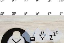 tipografías ligeramente alteradas
