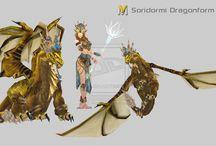 rpg. oc: soridormi / oc, insp:Warcraft, not mine. UNDERWATER Soridormi, dziecięce imię: (D/S)ori;  race: aquatic elf/topaz dragon; alingment: chaotic neutral (first idea true neutral) class: draogn shaman - topaz draogon, and crusader age: 120/111 years, young mature Tylko ojciec samotnik, dragon shaman; matka zgineła podczas ataku na wioskę; przyrodni brat prawnik w dużym mieście. Dom ubocze koło szkieletu smoka nad rowem. crusader: wiara w smoki top first, później bardziej w wiarę w swoją smoczą siebie