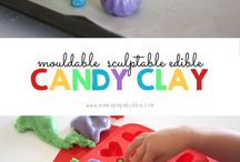 candy / candy clay