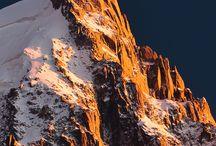 Aiguille du Midi -Chamonix Mont Blanc / Alpes France