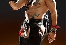 'Rock of Ages' styling