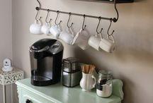 Coffee bar station