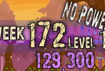 Angry Birds Friends Week 172 no  power / Angry Birds Friends Tournament Week 172 all Levels  HighScore  , 3 star strategy High Scores no power