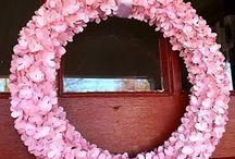 Wreaths and flakes birth (ghirlande e fiocchi nascita)