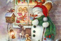 Рождество и Новый год в живописи