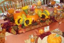 Thanksgiving / Thanksgiving flowers and centerpieces