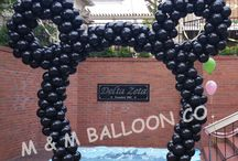 Mickey Mouse & Minnie Mouse Balloon Decor