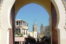 Medinas rústicas de Marrocos