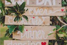 Bruiloft • wegwijsborden