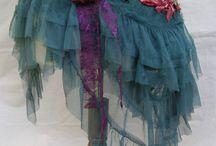 trajes y sujetadores orientales