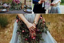 Moody Wedding Colour Scheme