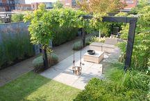 Záhrady a terasy