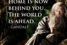Lord of the rings wisdom / Elämänviisauksia