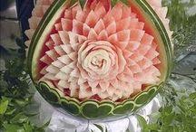 Wassermelone deko