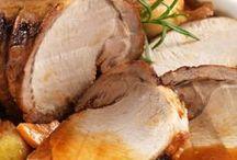 carnes y salsas