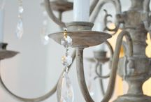 lighting.  chandeliers sconces