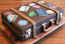 A. Luggage Cake