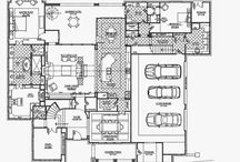 Dream Home / House plans for our future dream home!! / by Kristen Tate