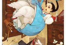 Princesas Disney Alternativas / Aquí muestro otras visiones de las princesas Disney