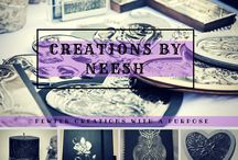 Creations by Neesh  / Pewter Art