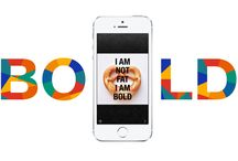 App Bold//. / Bold is an app that makes your text colourful and individual. Get Bold and post different. http://theboldapp.com