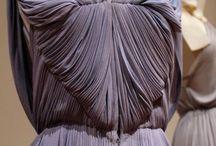 Beautiful Cascade of Fabrics
