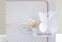Card ideas - White