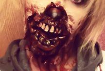 Halloween makeup / by Melissa Whalen