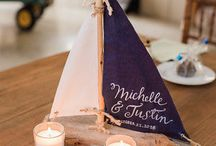 Nautical dinner party decor ideas
