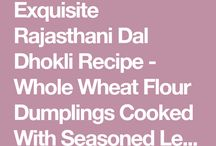 Recipes to cook from Rajasthan