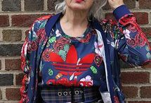 Older Boho woman / Boho has no age.