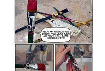 Paintbrush Care
