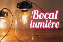 diy lumière / recycler ... faire ... la lumière est un atout en déco. ..