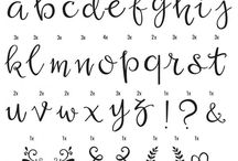 Fonts Handwriting