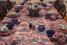 Pink and Blue Decorating / by Karen Linz