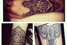 Hand Arm ink