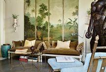 Interiors:  Living Room