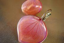 Resin jewelry-Műgyanta ékszerek