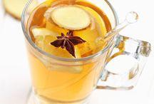 Chazinhos pra alegrar os dias / Receita de chás quentes e frios
