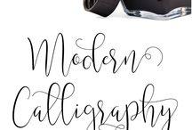 {DIY} Caligraphy