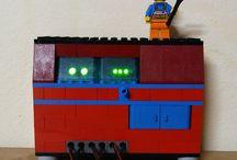 """LEGO / Realizzazioni creative con i LEGO del gruppo """"CRELAB""""  http://www.wutel.net/crelab"""