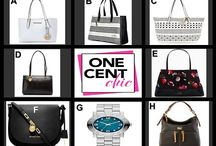 Thursdays Are All Ways Chic / Designer Accessory Auction of Handbags and a Marc Jacobs Watch tonight at OneCentChic at 10 PM