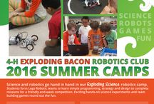 Exploding Science Summer Camp / Showing youth that STEM (science, technology, engineering, and math) is fun so they can become the next generation of scientists and engineers.