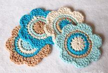 crochet mandala and doily